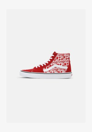 SK8-HI UNISEX - High-top trainers - chili pepper/racing red