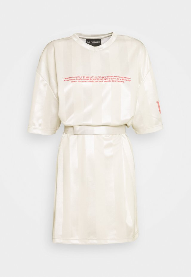 SPORT TEE DRESS - Sukienka letnia - off white