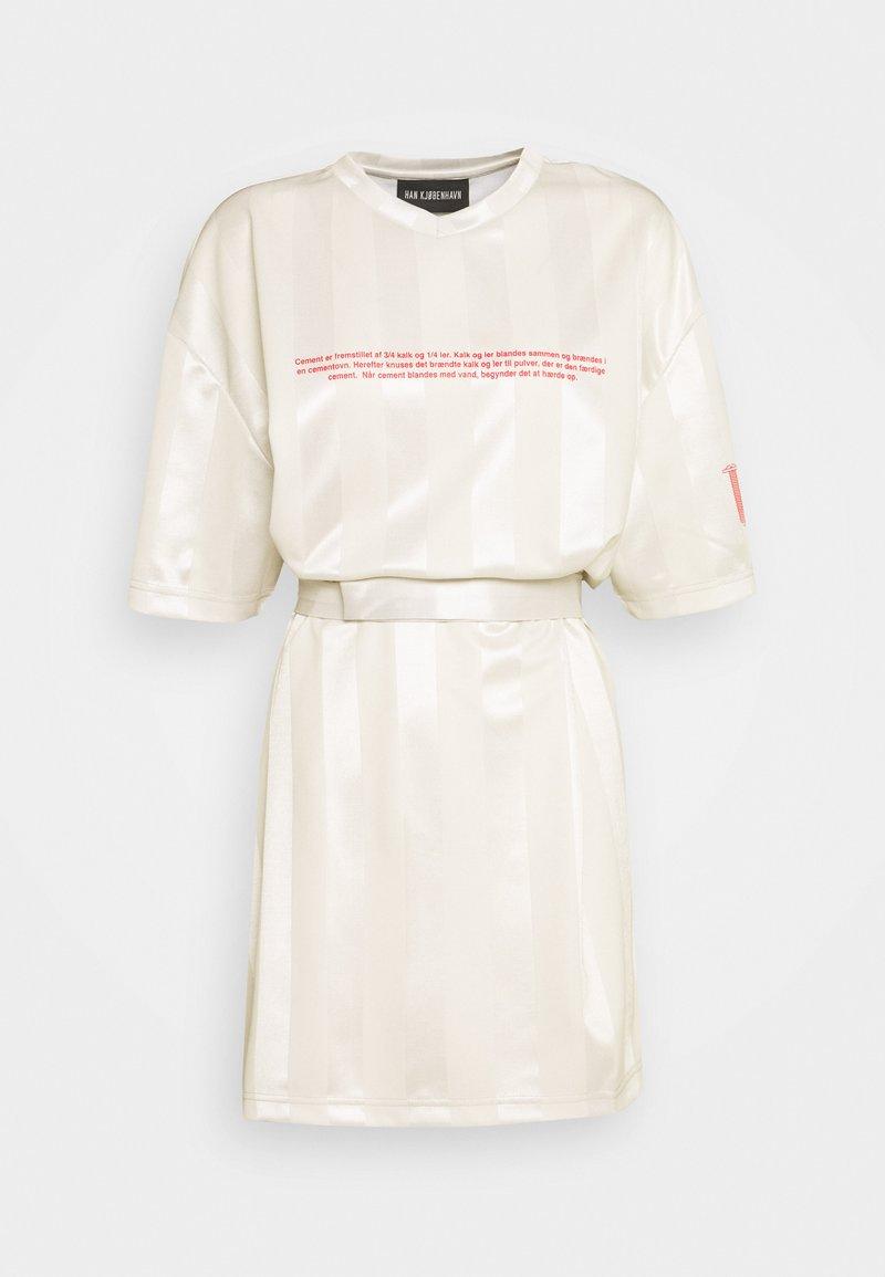 Han Kjøbenhavn - SPORT TEE DRESS - Day dress - off white