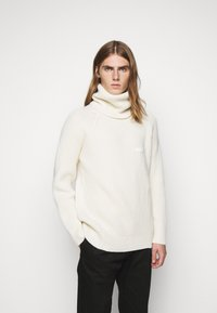 GCDS - TURTLENECK SWEATER - Jumper - white - 0