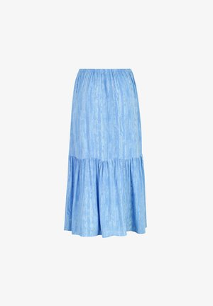 A-line skirt - light blue