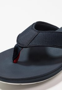Clarks - STEP BEAT DUNE - T-bar sandals - navy - 5