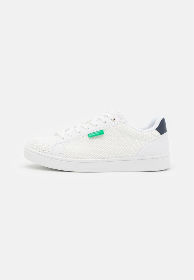 LABEL - Sneakers laag - white/navy