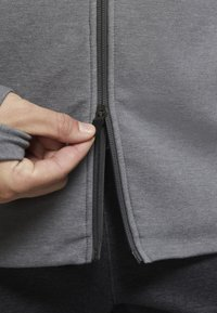 Nike Performance - Zip-up hoodie - iron grey/htr/(black) - 4