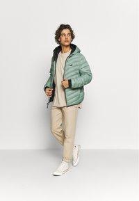 Hollister Co. - PUFFER SAGE - Down jacket - sage - 1
