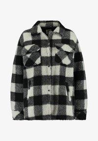 America Today - JUNE - Fleece jacket - black/white - 0