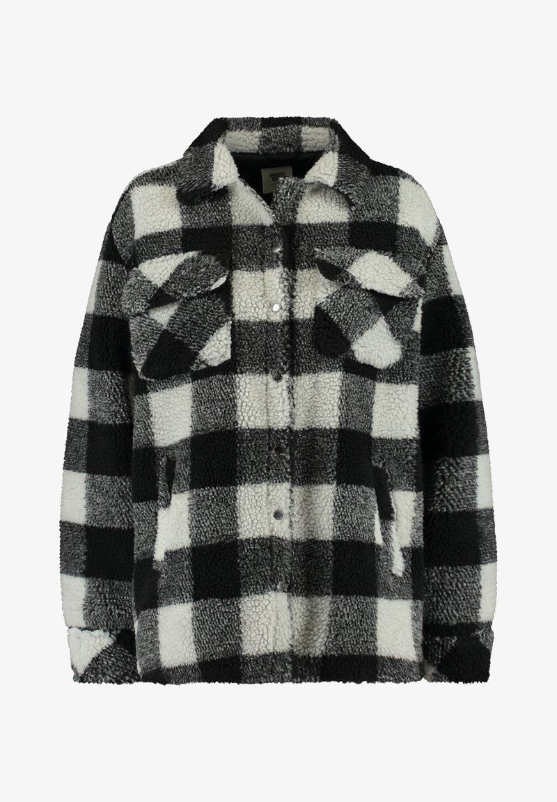 America Today - JUNE - Fleece jacket - black/white