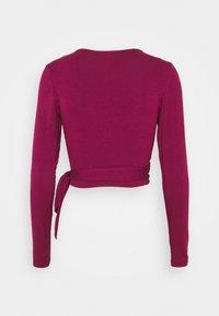 Glamorous - Long sleeved top - burgundy - 1