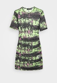 Missguided - RUCHE SIDE DRESS - Doplňky na pláž - black - 3
