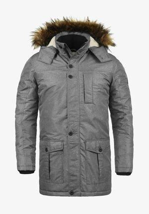 OCTAVUS - Zimní kabát - grey melange