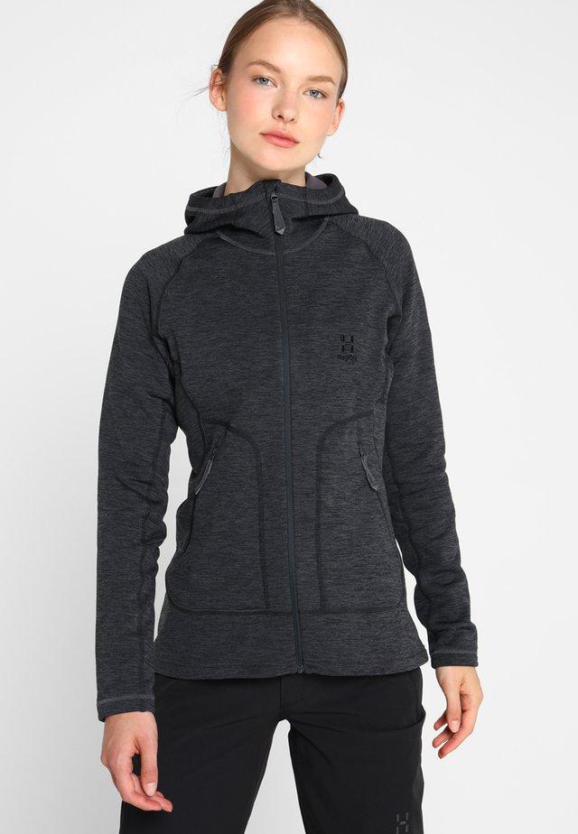 Fleece jacket - slate