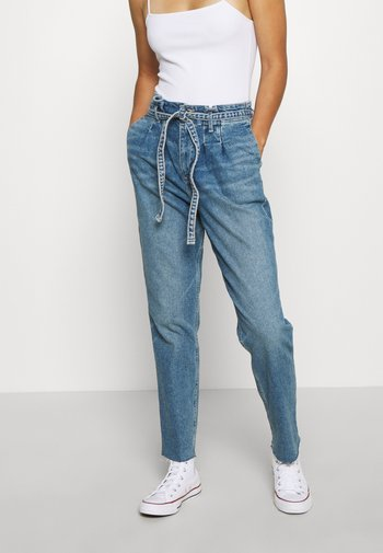 CURVY MOM  - Jeans relaxed fit - blue denim