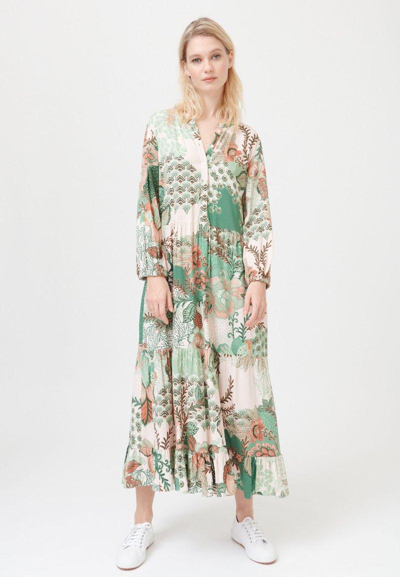 Dea Kudibal - FELICIA V - Maxi dress - prairie green