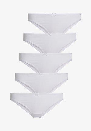 5 PACK - Briefs - white