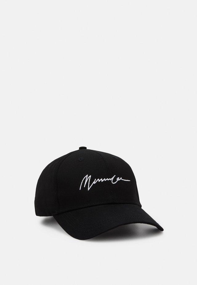 SIGNATURE BASEBALL  - Cap - black