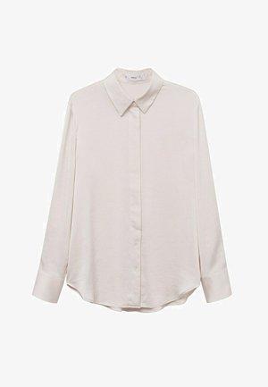 IDEALE - Button-down blouse - ecru