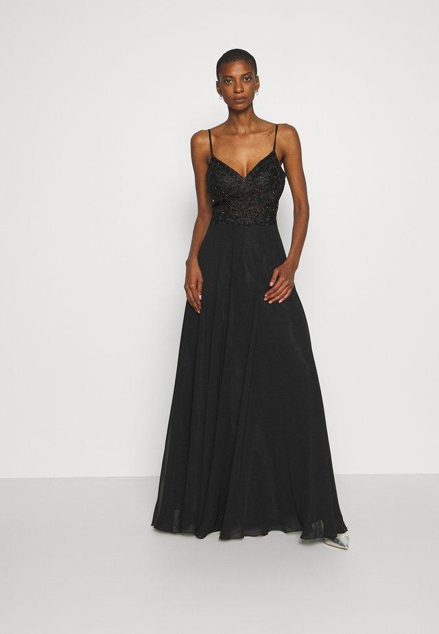 Festklänning - schwarz
