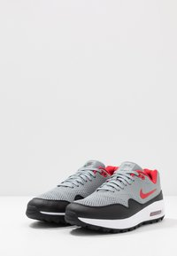 Nike Golf - AIR MAX 1 G - Golfové boty - particle grey/university red/black/white - 2
