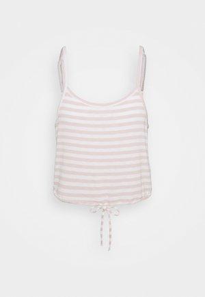 SLEEP CROP CAMI - Pyjama top - heather country pink/sand