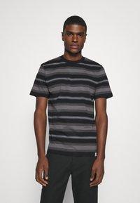 Carhartt WIP - BUREN  - Print T-shirt - black - 0