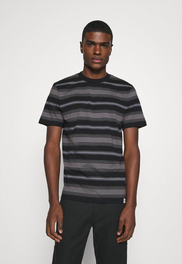 BUREN  - T-shirt print - black