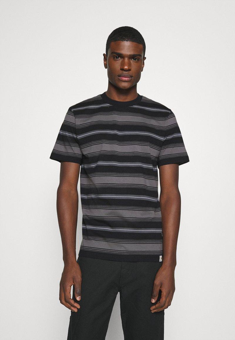 Carhartt WIP - BUREN  - Print T-shirt - black