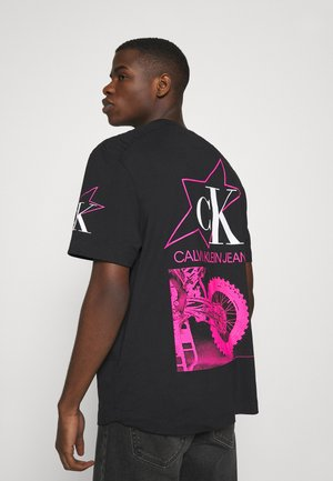 FASHION BIKER TEE - Camiseta estampada - black