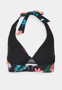 Pour Moi - WATERFALL UNDERWIRED HALTER TRIANGLE - Bikini top - tropical - 6