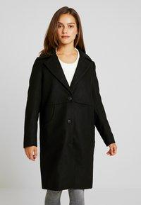 Noisy May Petite - CLAUDIA PETITE - Classic coat - black - 3