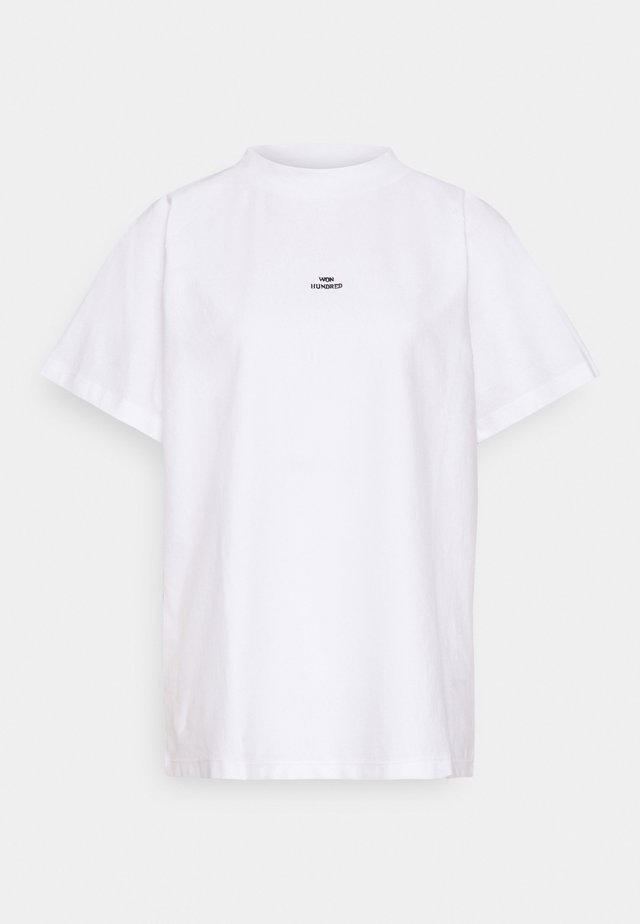BROOKLYN - T-shirt - bas - white