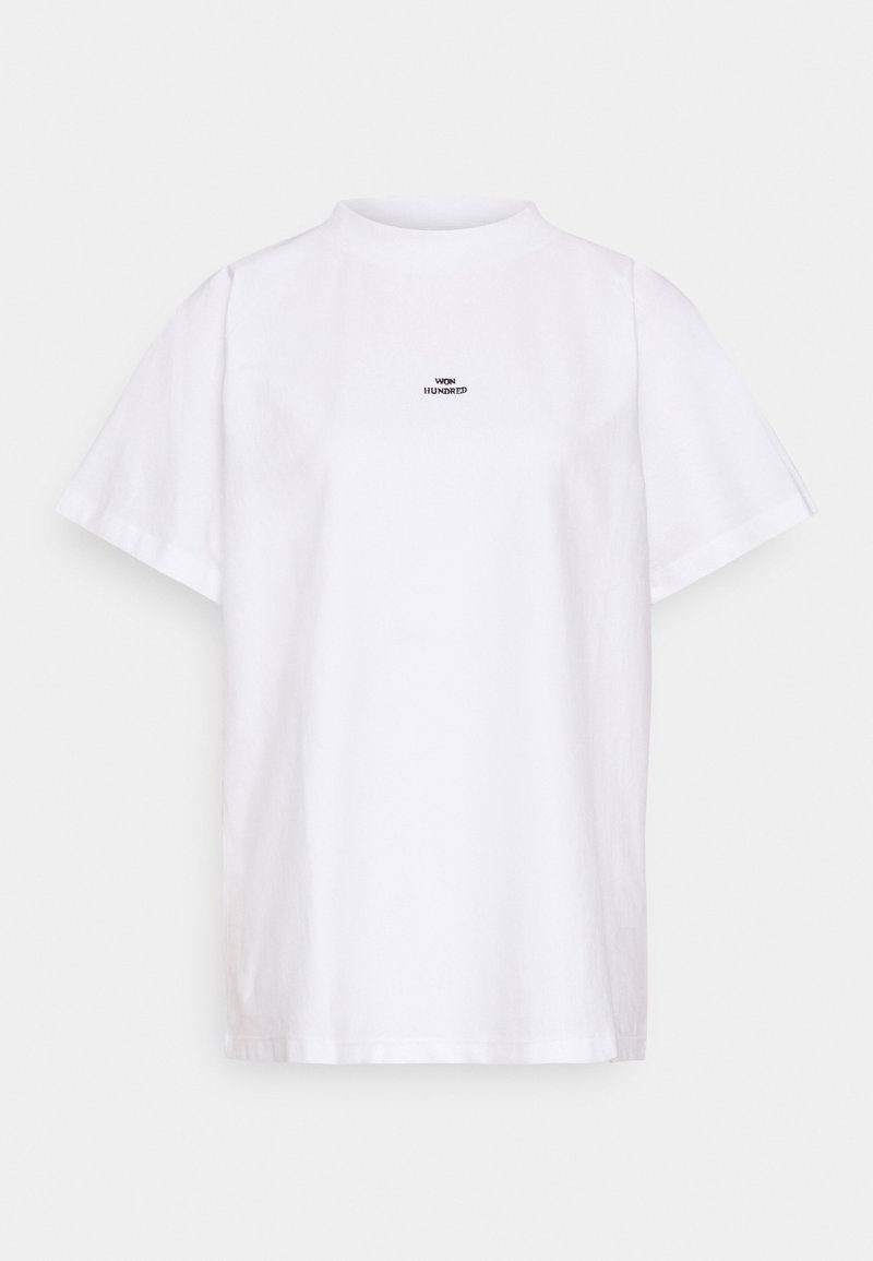 Won Hundred - BROOKLYN - Jednoduché triko - white