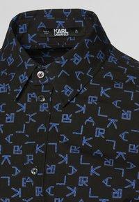 KARL LAGERFELD - Košile - p tetris blac - 2