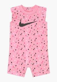 Nike Sportswear - GIRLS FLUTTER SLEEVE ROMPER BABY - Haalari - pink - 0