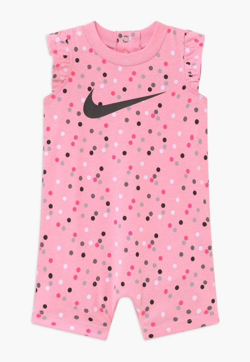 Nike Sportswear - GIRLS FLUTTER SLEEVE ROMPER BABY - Haalari - pink