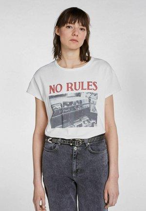 Print T-shirt - pristine