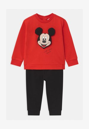 MICKEY SET - Tracksuit - pompeian red