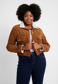 Cotton On Curve - GIRLFRIEND JACKET - Summer jacket - brushetta sherpa - 0
