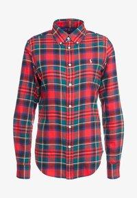 Polo Ralph Lauren - TWILL PLAID - Camicia - crimson red - 4