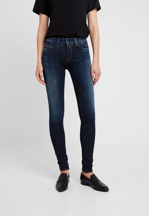 LUZ HIGH WAIST HYPERFLEX PLUS - Jeans Skinny Fit - dark blue