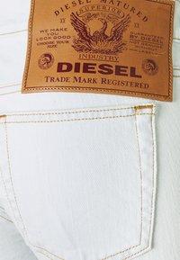 Diesel - D-EBBEY - Flared Jeans - white - 2