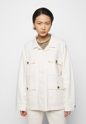 DEAR - Džínová bunda - ecru