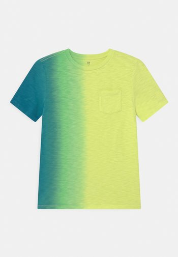 BOY POCKET TEE - Print T-shirt - carmel green