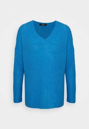 MALIBU V-NECK BEACH  - Strikkegenser - electric blue