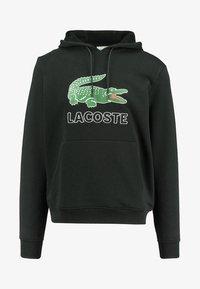 Lacoste - Bluza z kapturem - black - 0