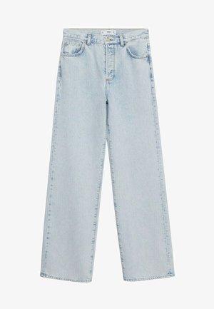 KAIA - Straight leg jeans - lichtblauw