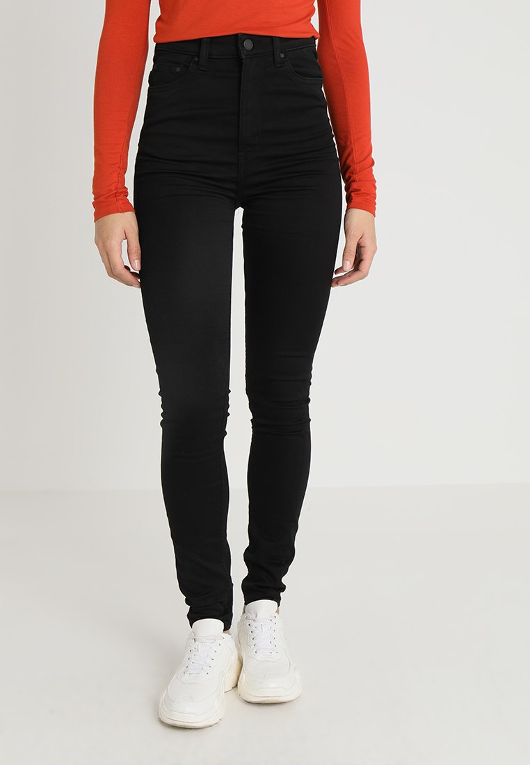 Weekday - BODY HIGH - Jeans Skinny Fit - black