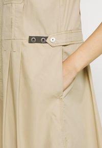 G-Star - FIT AND FLARE DRESS - Day dress - westpoint khaki - 4