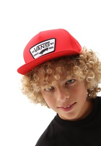 Vans - BY FULL PATCH SNAPBACK BOYS - Cap - high risk red - 0