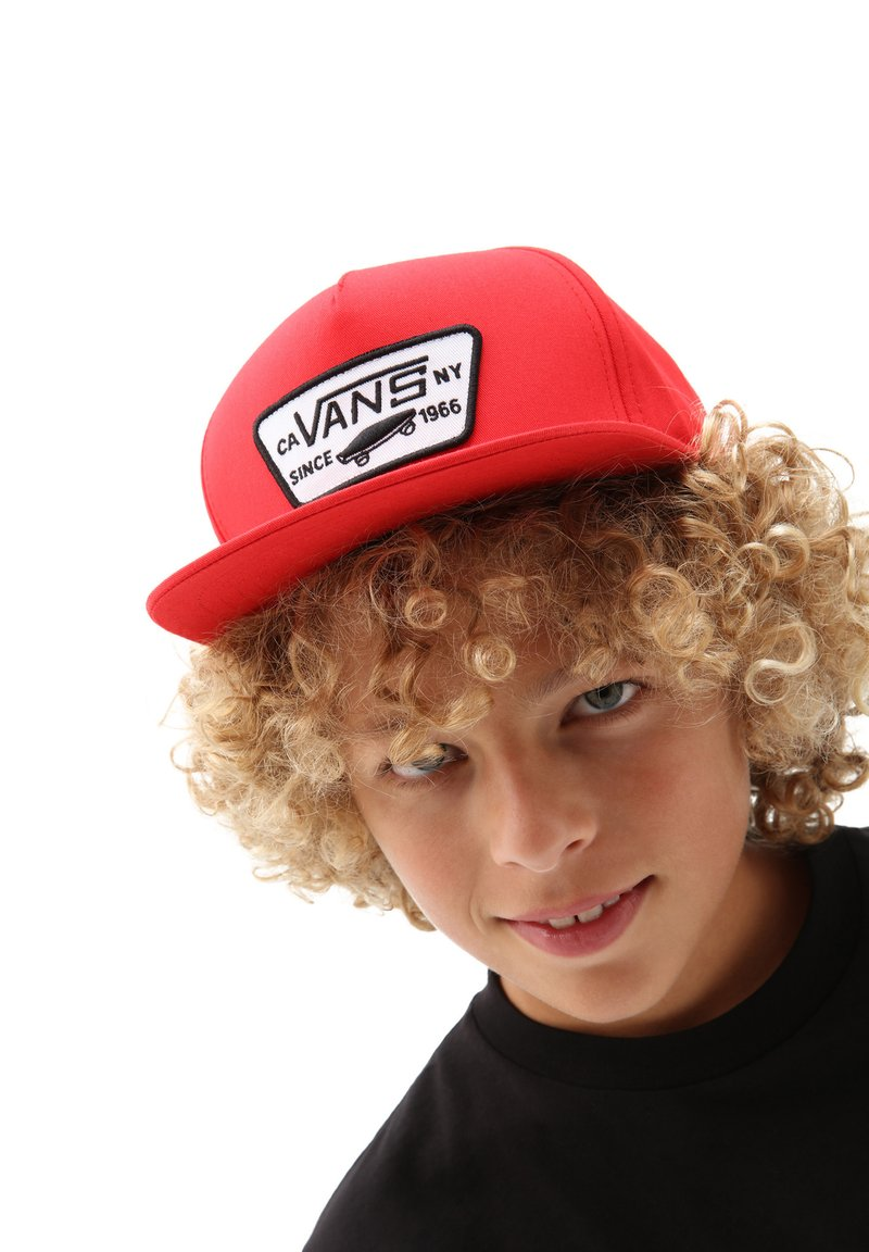 Vans - BY FULL PATCH SNAPBACK BOYS - Cap - high risk red