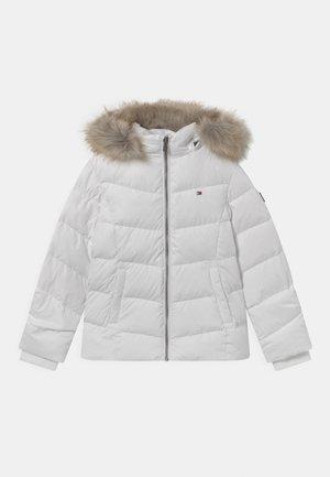 ESSENTIAL - Down jacket - white